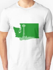 Ode to Washington State Partial Silhouette T-Shirt