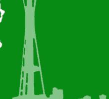 Ode to Washington State Partial Silhouette Sticker