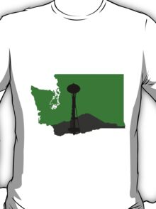 Ode to Washington State, Mt. Rainier T-Shirt