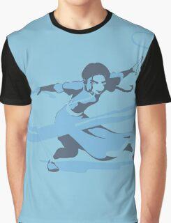 Minimalist Katara from Avatar the Last Airbender Graphic T-Shirt