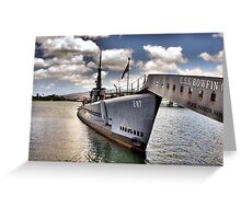 USS Bowfin Greeting Card