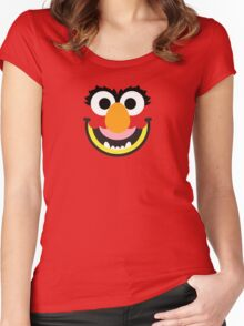 "Muppets ""Animal"" Women's Fitted Scoop T-Shirt"