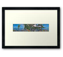 East Sooke Park (360 Panorama HDR) Framed Print