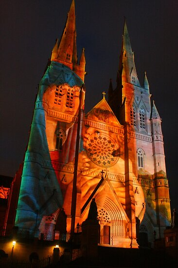 Lights of Christmas, Sydney 2011 by Michael Matthews