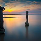 Three Sentinels - Clifton Springs by Hans Kawitzki