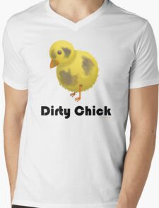 Dirty Chick, Funny Cartoon Chicken Design T-Shirt
