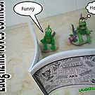 Laughzilla loves comics by bubbleicious