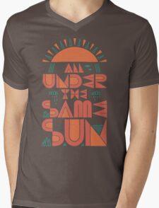 All Under The Same Sun Mens V-Neck T-Shirt