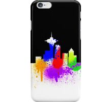 Seattle Skyline Graffiti iPhone Case iPhone Case/Skin