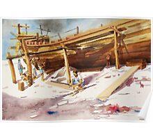 boat maker Poster