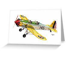 """RYAN PT-22 Trainer"" Greeting Card"