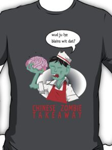 Chinese Zombie Takeaway T-Shirt