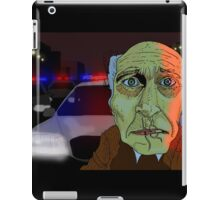 Running from the Cops iPad Case/Skin