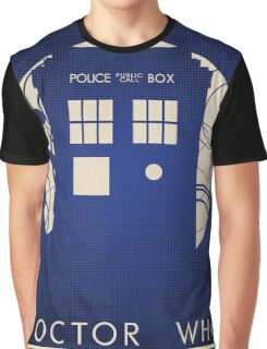 Doctor Who Poster Graphic T-Shirt