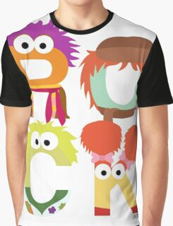 """A Fraggle """"ROCK"""" Graphic T-Shirt"""