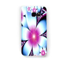 Pretty in Pink and Blue Samsung Galaxy Case/Skin