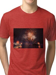Fireworks in Brisbane Tri-blend T-Shirt