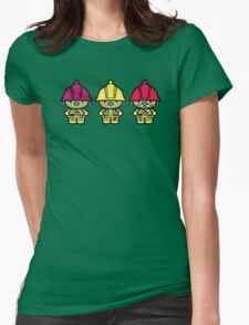 Chibi-Fi Doozers Womens Fitted T-Shirt