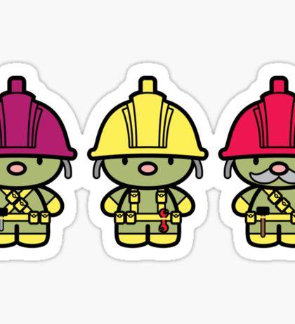 Chibi-Fi Doozers Sticker