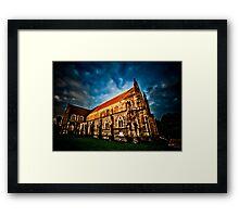 Imposing Utopia Framed Print
