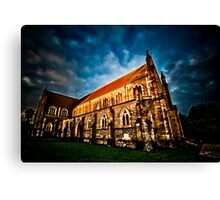 Imposing Utopia Canvas Print