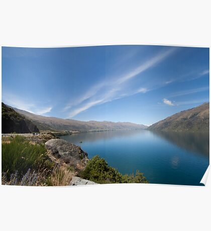 Tranquil lake Poster