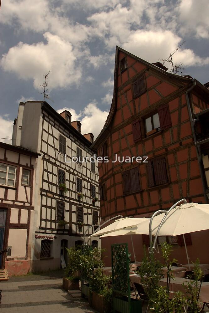 Strasbourg Houses by Lourdes Juarez