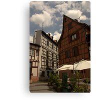 Strasbourg Houses Canvas Print