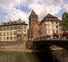 Strasbourg Bridge by Lourdes Juarez