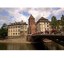 Strasbourg Bridge Photographic Print
