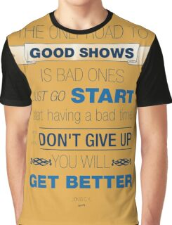The Road to Good Shows Graphic T-Shirt