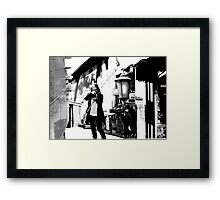 Photomontage Framed Print