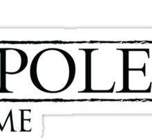 The Napoleon Of Crime Sticker