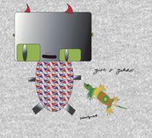 girl and gekko by SubvertSmerf