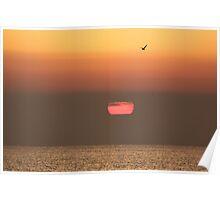 Sunrise - North Norfolk Coast Poster