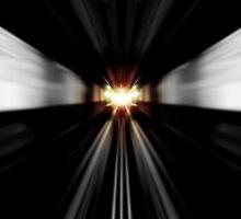 Inside the dark tunnel by Scott Mitchell