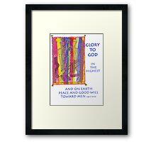 GLORY to GOD Framed Print