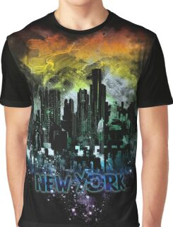 stormy city - New - York Graphic T-Shirt