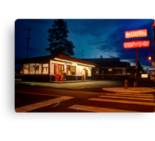 Ray's Drive In Canvas Print