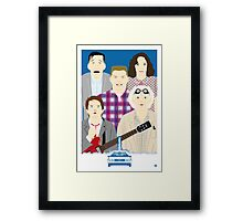 1955 (Faces & Movies) Framed Print