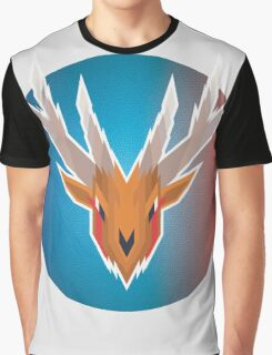 Stained Stag Graphic T-Shirt