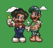 Mario VS Jersey Shore by Tim  Shumate