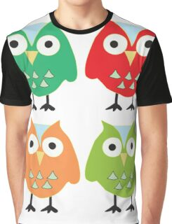 Cute owls Graphic T-Shirt
