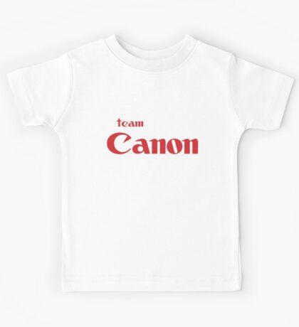 Team Canon!  Kids Tee