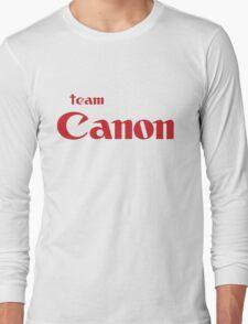 Team Canon!  Long Sleeve T-Shirt