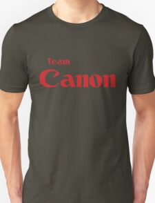 Team Canon!  T-Shirt