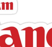 Team Canon!  Sticker