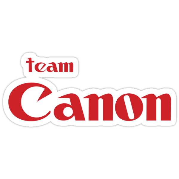 Team Canon!  by photoshirt