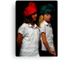 The Two Elves Canvas Print