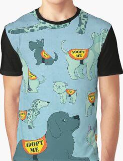 Adopt a Dog Graphic T-Shirt